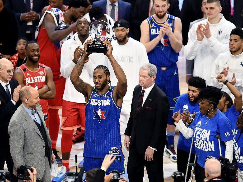 Hasil NBA All Star 2020: Tim LeBron Menangi Duel 157-155