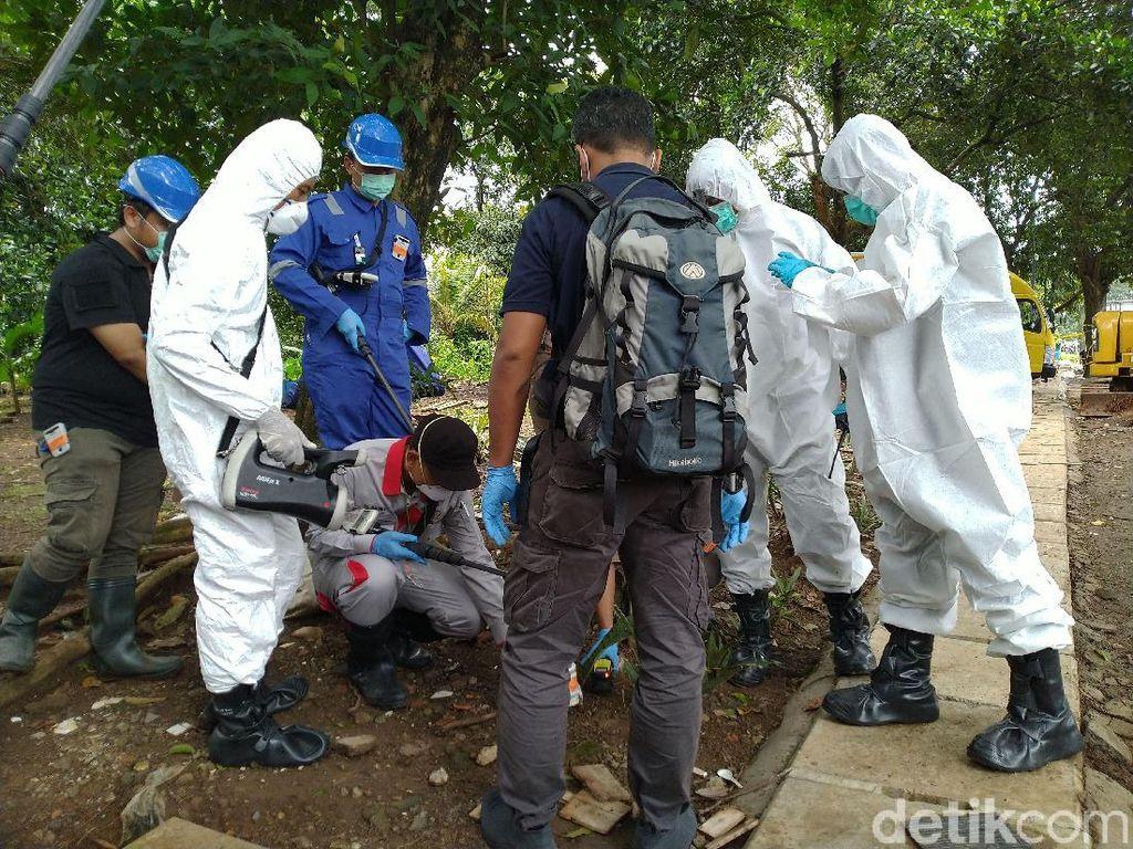 Cari Sumber Limbah Radioaktif, Polisi Periksa Rumah Warga Batan Indah