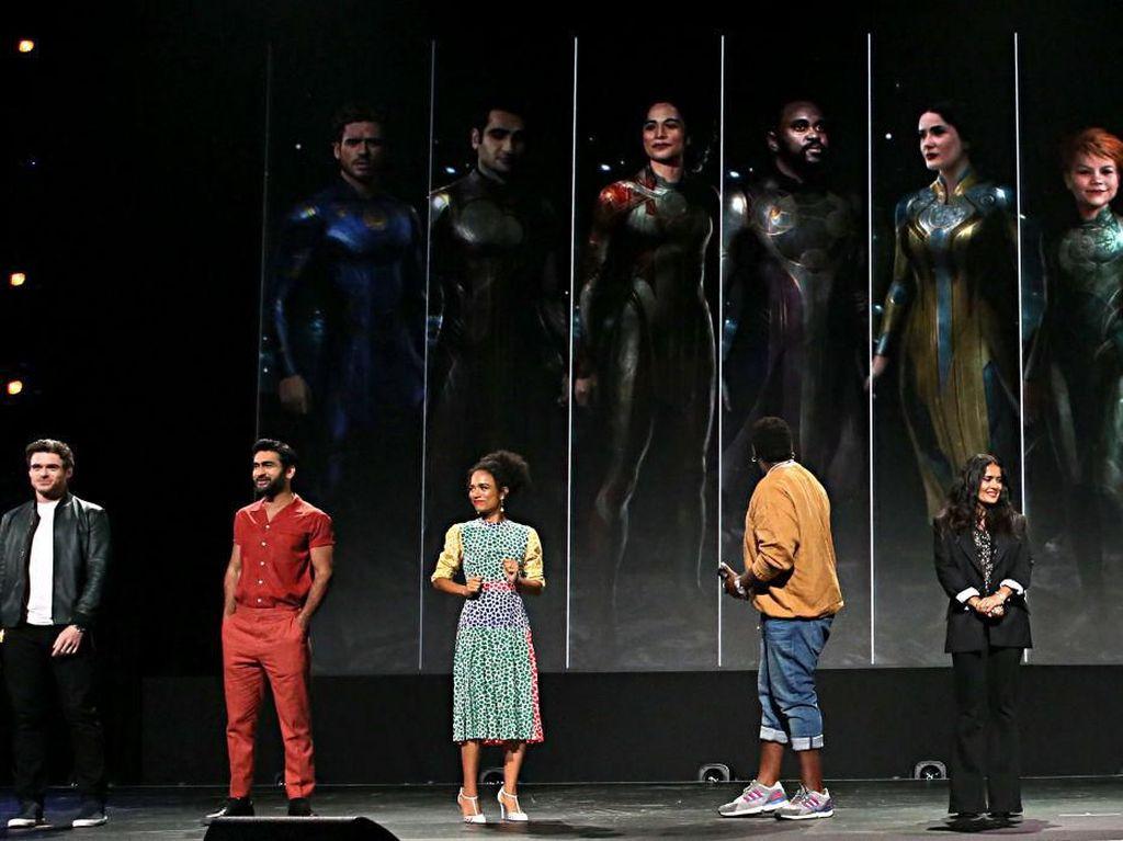 Kata Marvel soal Adegan Intim Sesama Jenis dalam The Eternals
