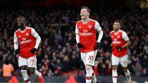Video Gol Indah Mesut Ozil Pecahkan Rekor Liga Inggris