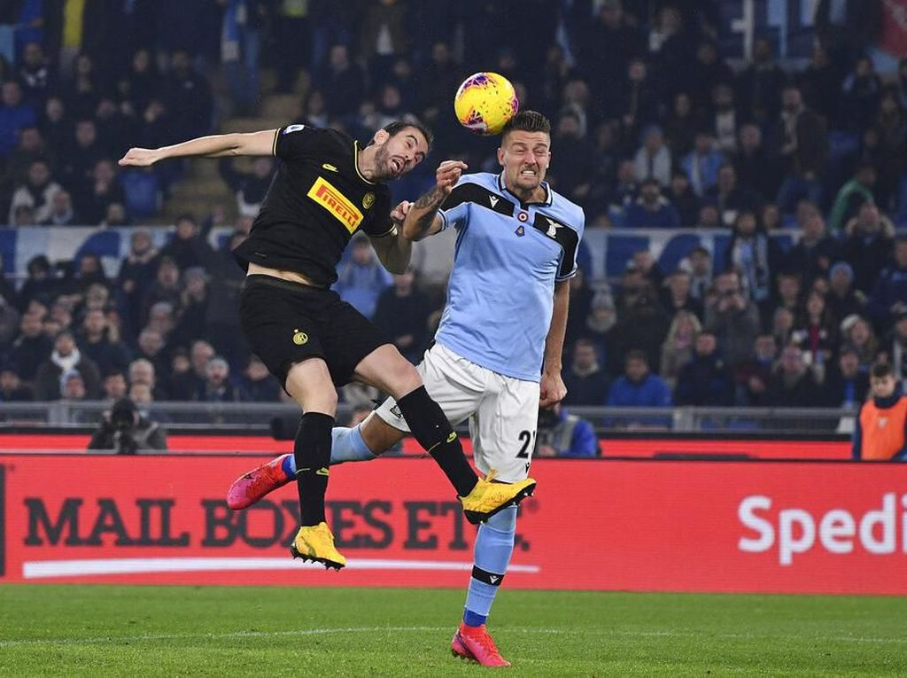 Lazio Vs Inter: Menang 2-1, Biancocelesti Pepet Juventus