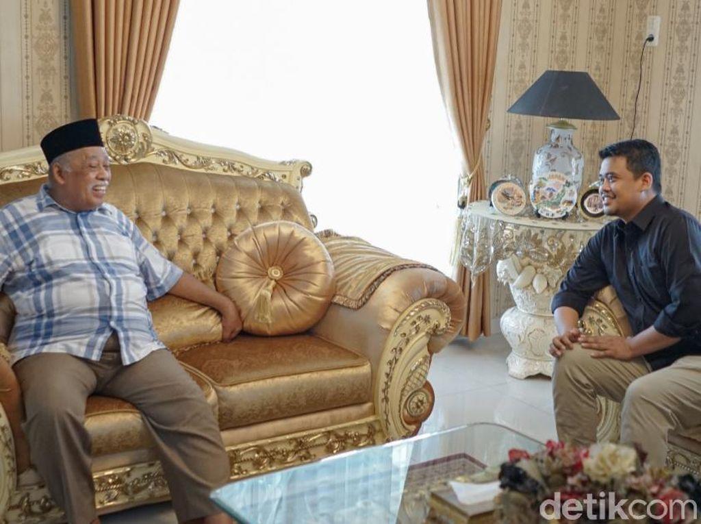 Temui Warga Medan Deli, Bobby Dijodohkan Kader Gerindra di Pilkada