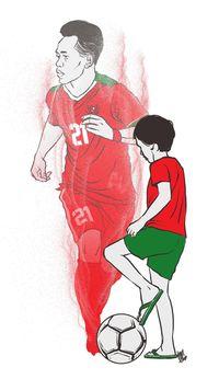 Andik Vermansah kecil sempat diremehkan untuk menjadi pemain bola karena tubuh yang kecil.