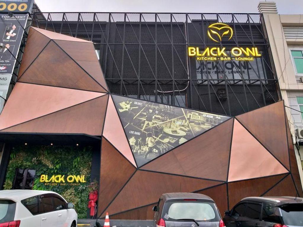 Black Owl PIK Sebut Tempatnya hanya Restoran dan Bar