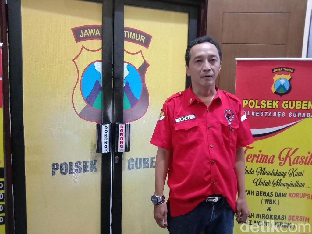 Pelaku Pemukulan Ketua Ranting PDIP Surabaya Disebut Anggota Satpol PP
