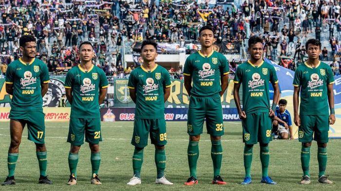 Persebaya Surabaya di Piala Gubernur Jatim yang berlangsung di Stadion Gelora Bangkalan, Madura.