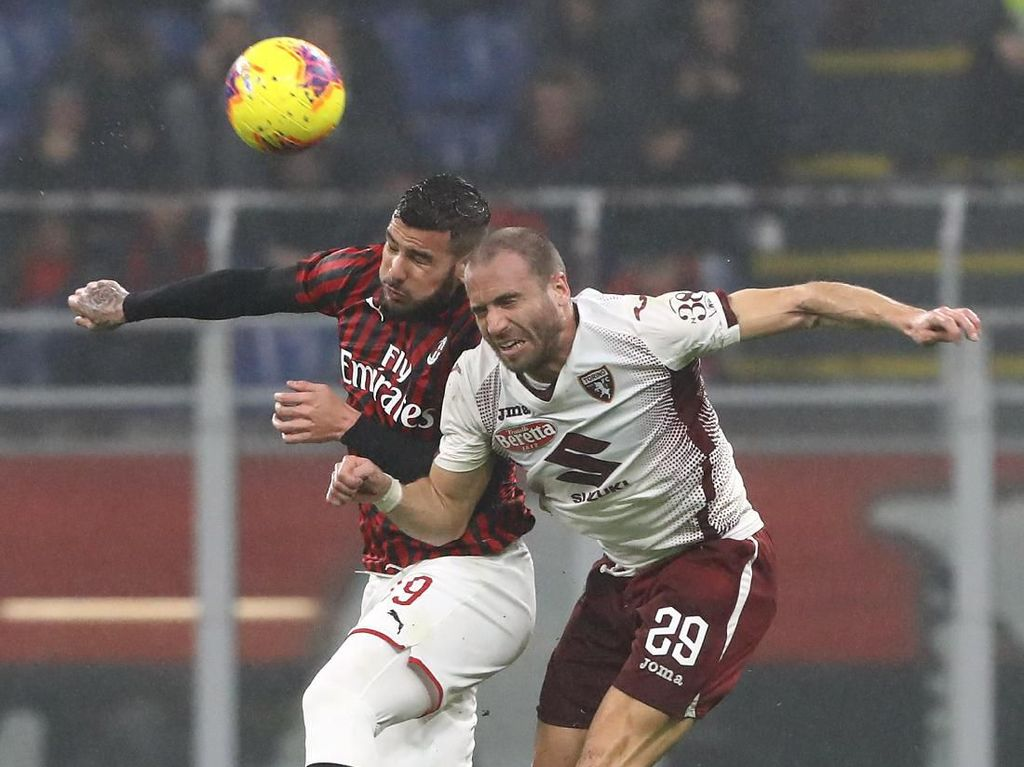 Milan Tumbangkan Torino 1-0, Kemenangan Setelah Hampir 4 Tahun