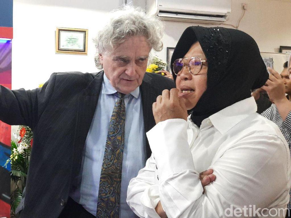 Risma Tidak Tahu Cak Imin Sebut Kemajuan Surabaya Tak Signifikan