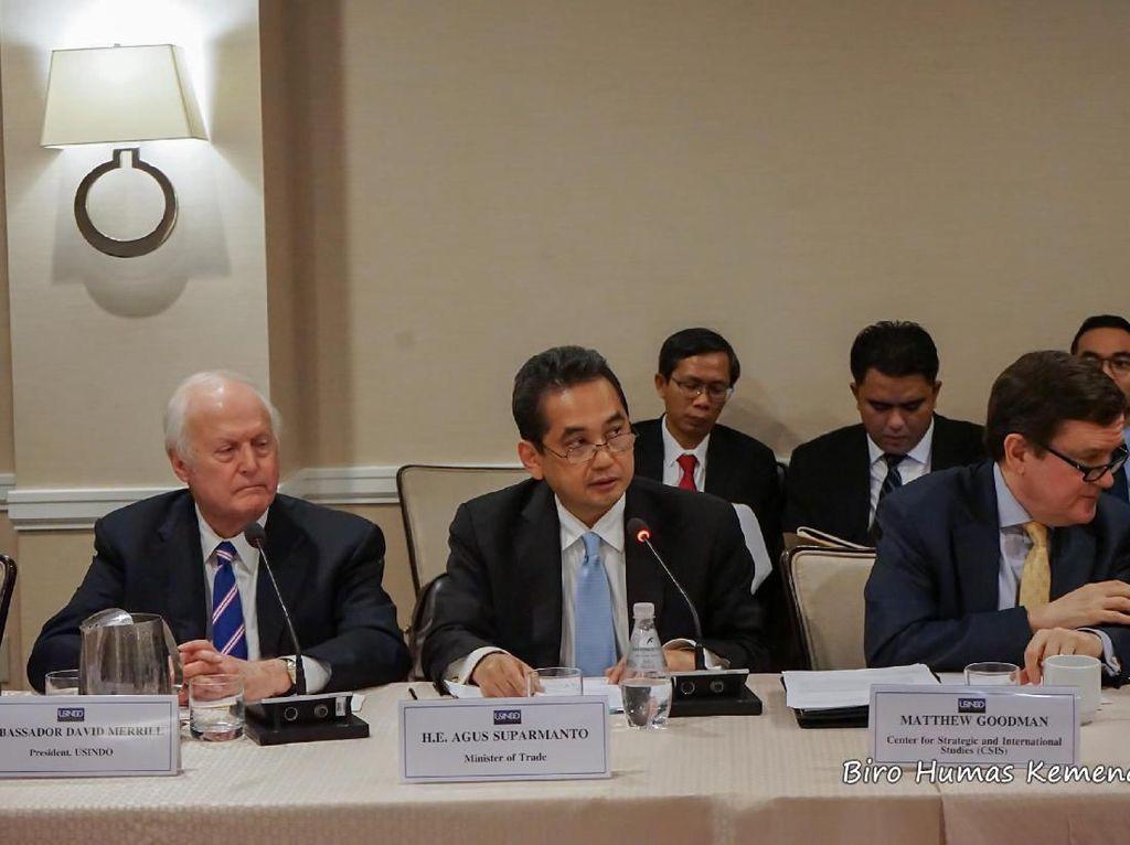 Nilai Perdagangan RI-AS Ditargetkan Naik Jadi US$ 60 Miliar di 2024