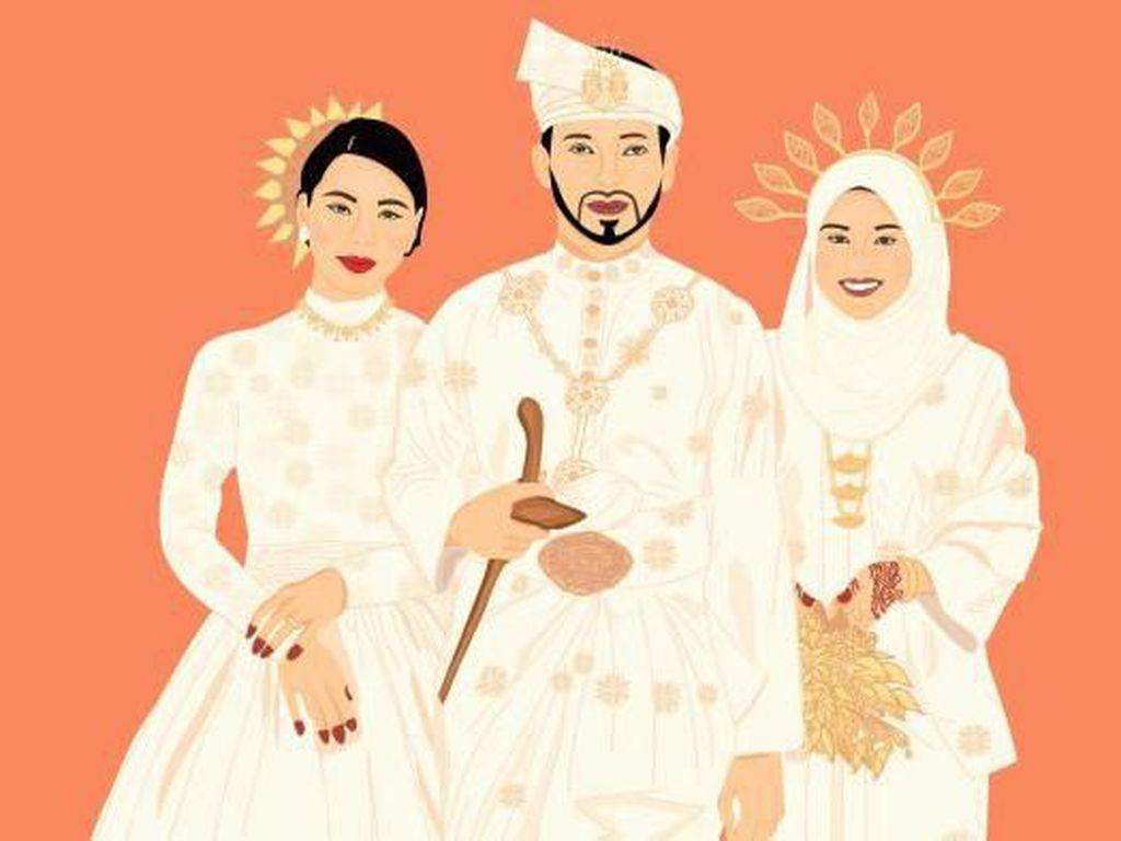 Hanya Butuh Suami di Akhir Pekan: Kisah Perempuan Malaysia Berbagi Suami