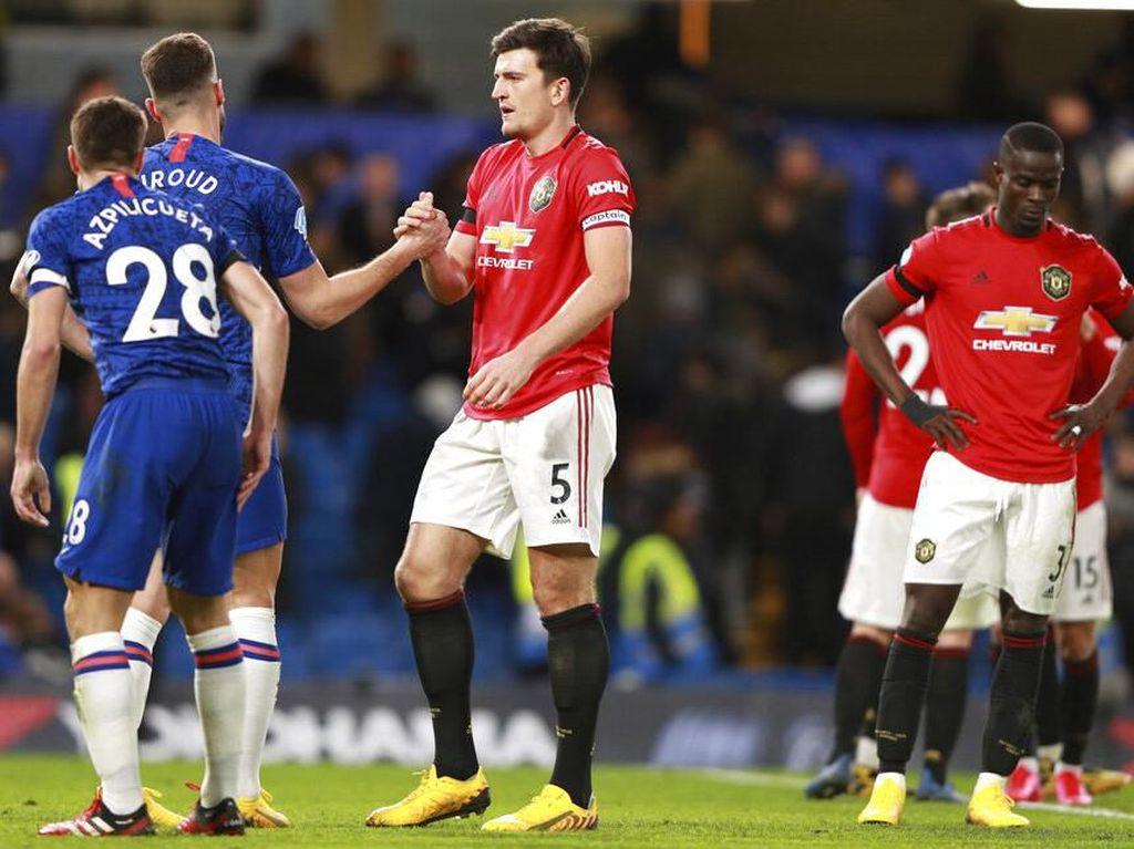 Jika Ada Mourinho di Chelsea, Maguire Akan Dapat Kartu?