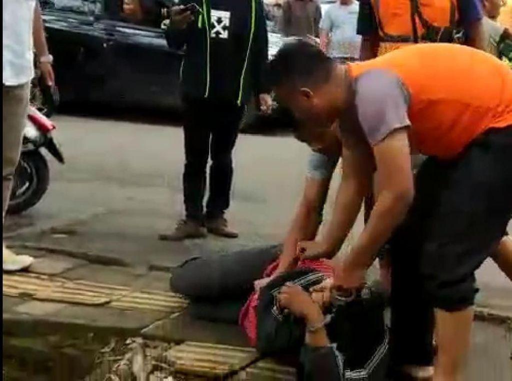 Aksi Heroik Polantas Bandung Lumpuhkan 2 Pelaku Curanmor