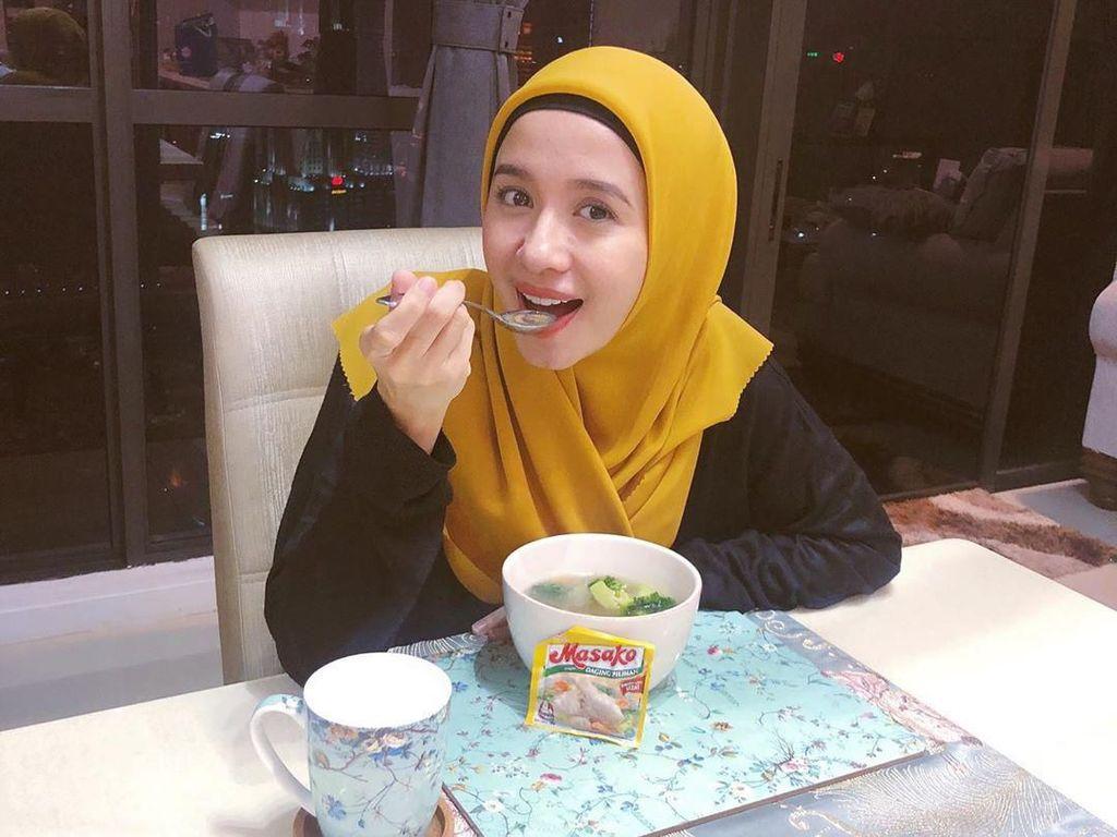 10 Momen Kulineran Laudya Cynthia Bella yang Eksis di Instagram