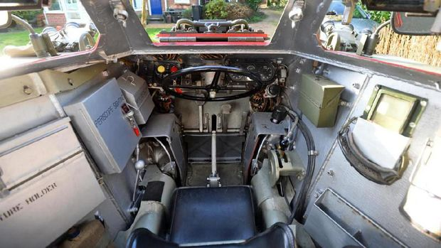 Interior tank Mark II Ferret