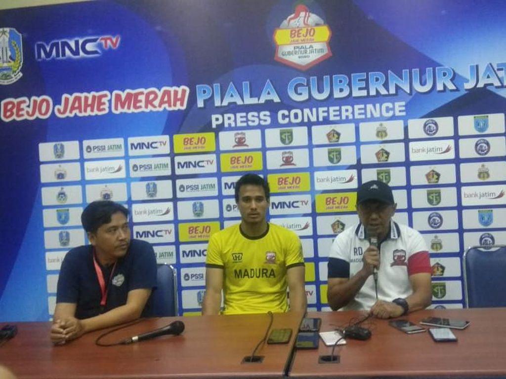 RD Puas dengan Performa Madura United, tapi Tidak dengan Hasil Akhirnya