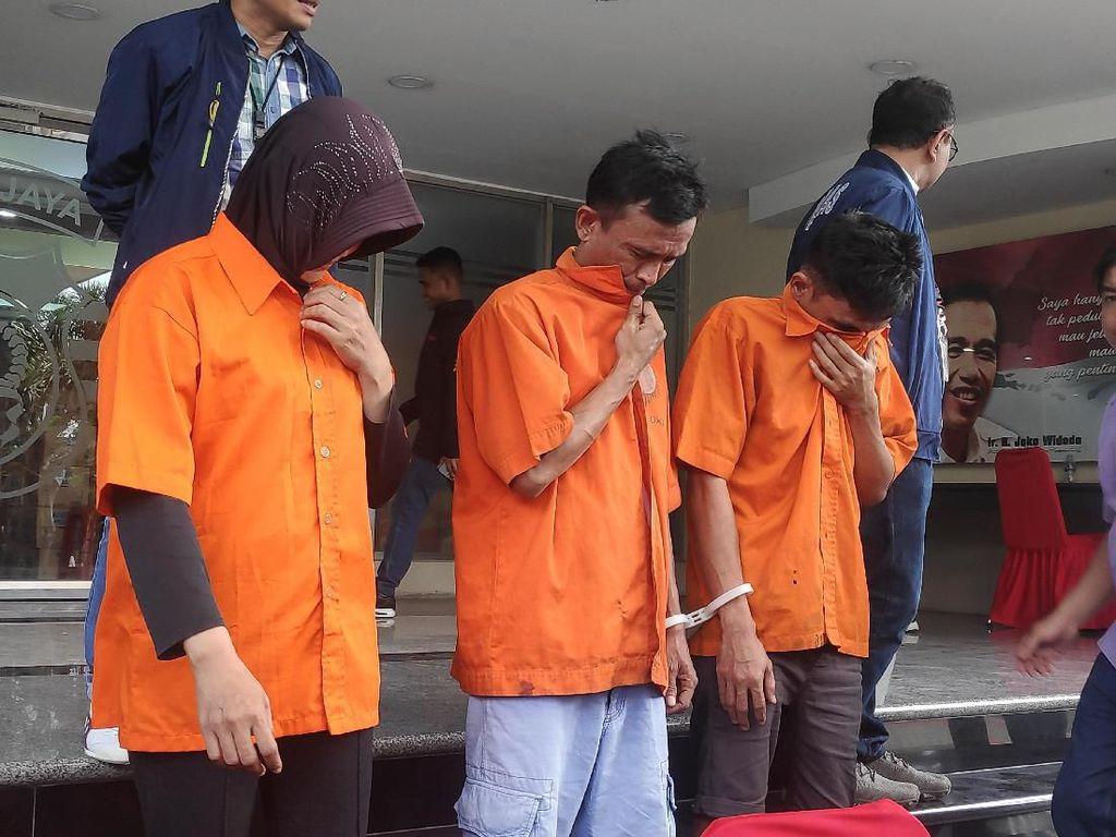 Berkasi hingga Mancanegara, 3 Pencuri Modus Geser Tas di Jaksel Diciduk