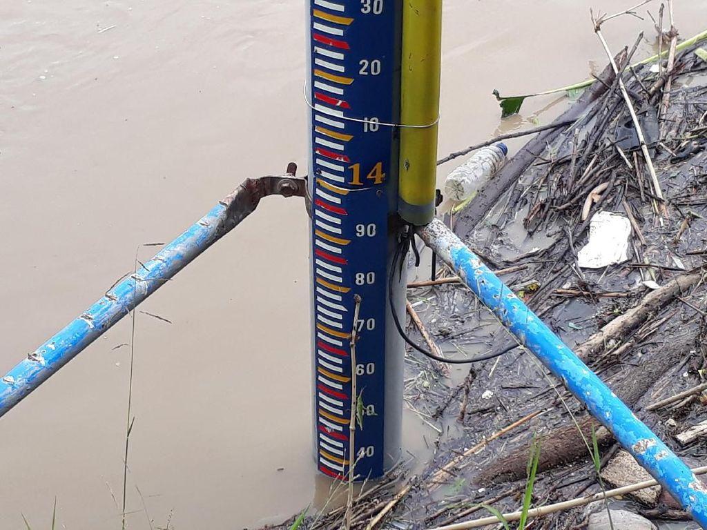 Debit Air Sungai Bengawan Solo di Bojonegoro Naik