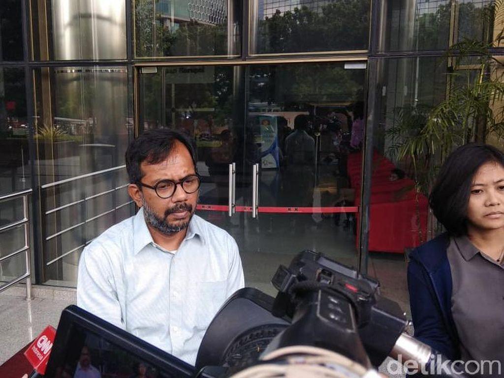 Haris Azhar Tiba-tiba ke KPK, Ngaku Bawa Whistleblower untuk Kasus Nurhadi