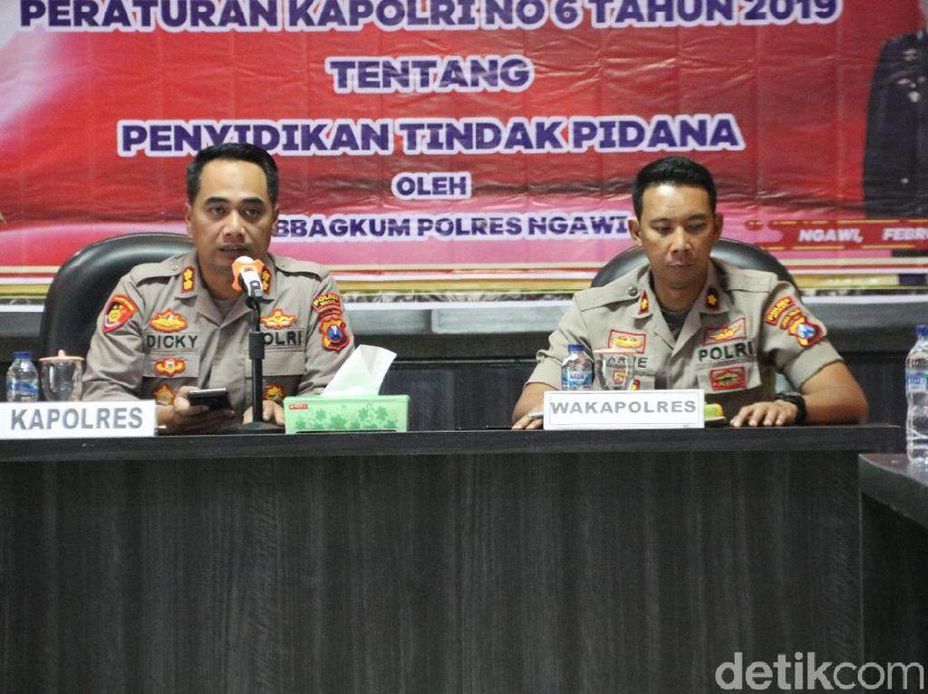 Polisi Ngawi Sebut Tidak Semua Kasus Berakhir Sidang, Ini Sebabnya