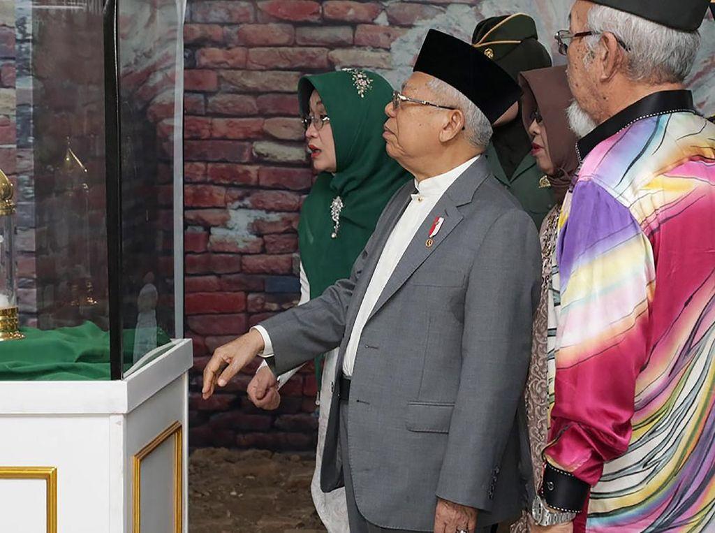 Momen Wapres Maruf Amin di Festival Jelajah Nusantara