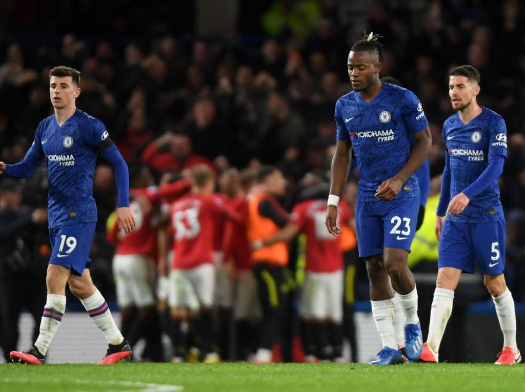 Chelsea Vs Man United: Dua Gol Dianulir VAR, The Blues Takluk 0-2