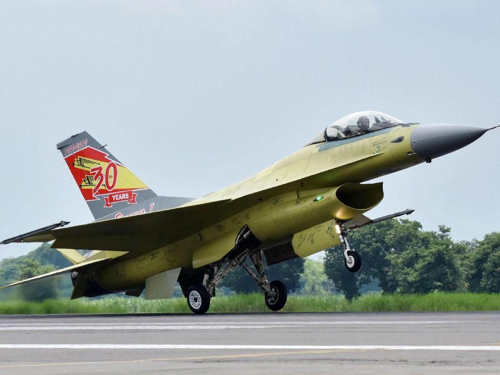 PT DI Berhasil Upgrade 10 Pesawat F-16