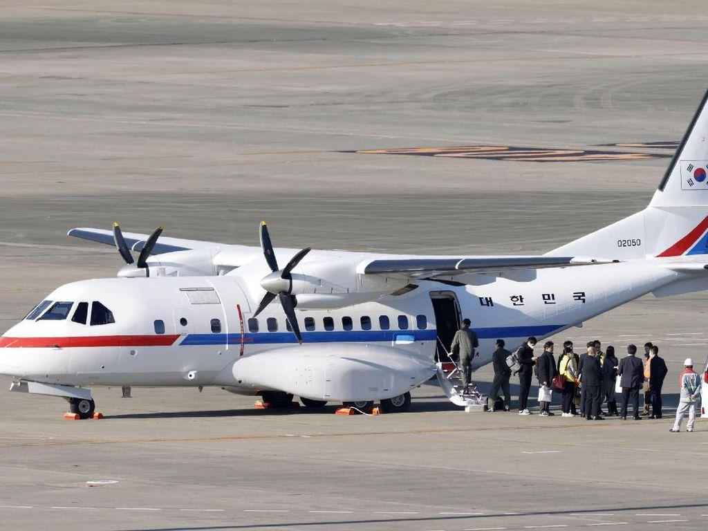 Pesawat Korsel untuk Evakuasi Warga dari Kapal Pesiar Tiba di Jepang