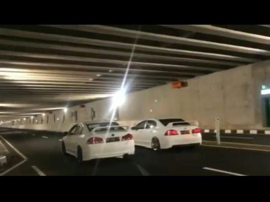Sambatan Warga Soal Balapan Mobil di Underpass Bandara Kulon Progo