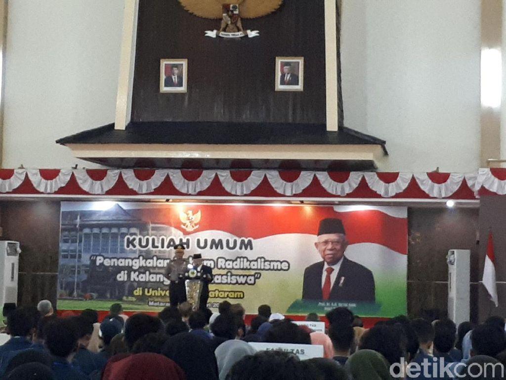 Maruf Amin Beberkan 5 Kelompok dalam Skema Penanganan Radikalisme