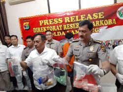 Polda Lampung Tangkap Bandar Sabu, Sabu Senilai Rp 1 Miliar Disita