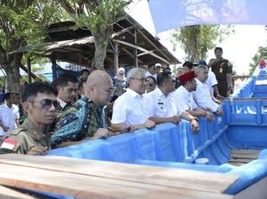 KKP-SKK Migas Beri Bantuan Kapal Ikan untuk Nelayan Donggala