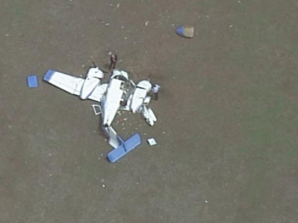 2 Pesawat Australia Bertabrakan di Udara, Semua Penumpang Tewas
