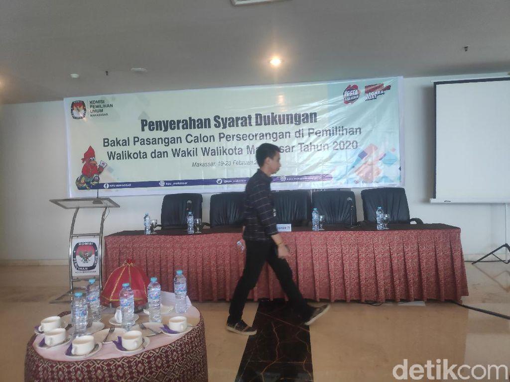 KPU Makassar Mulai Terima Berkas Dukungan Calon Perseorangan Pilwalkot