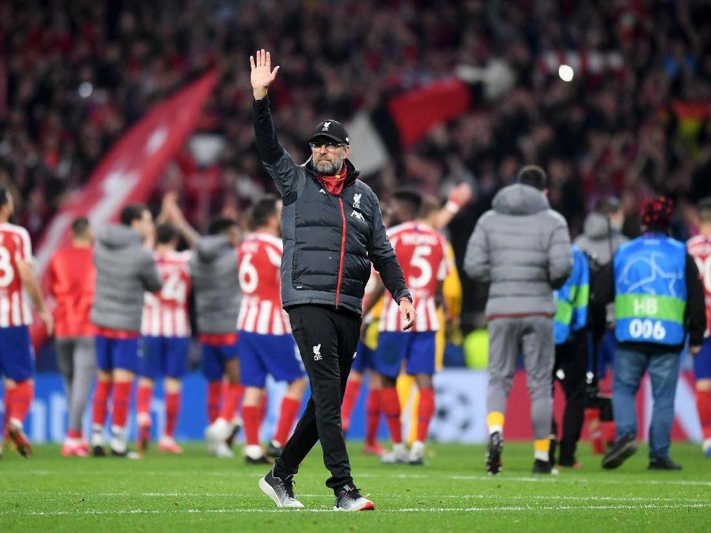 Juergen Klopp ke Atletico Madrid: Welcome to Anfield