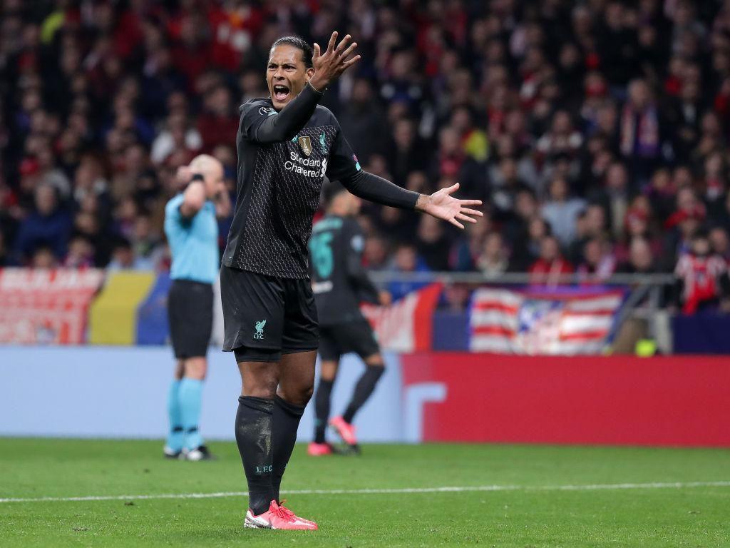 Van Dijk: Atletico Hanya Beruntung Kalahkan Liverpool