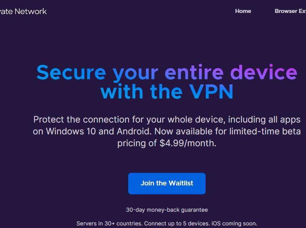 Mozilla Rilis Aplikasi VPN untuk Android dan Windows