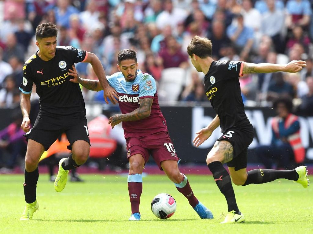 Link Live Streaming Man City Vs West Ham