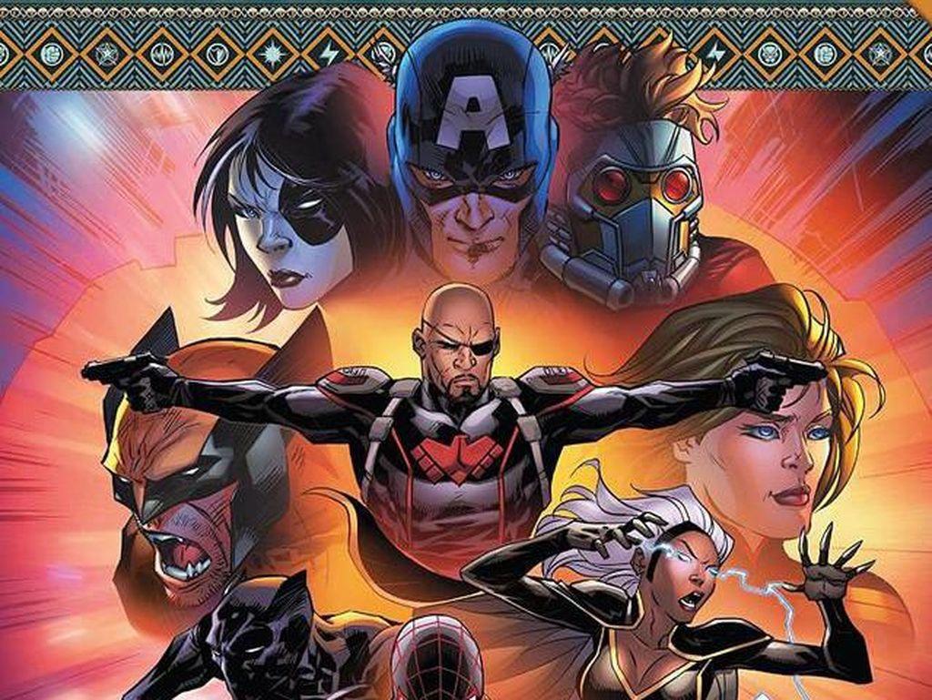Ini Captain America Pertama yang Berkulit Hitam