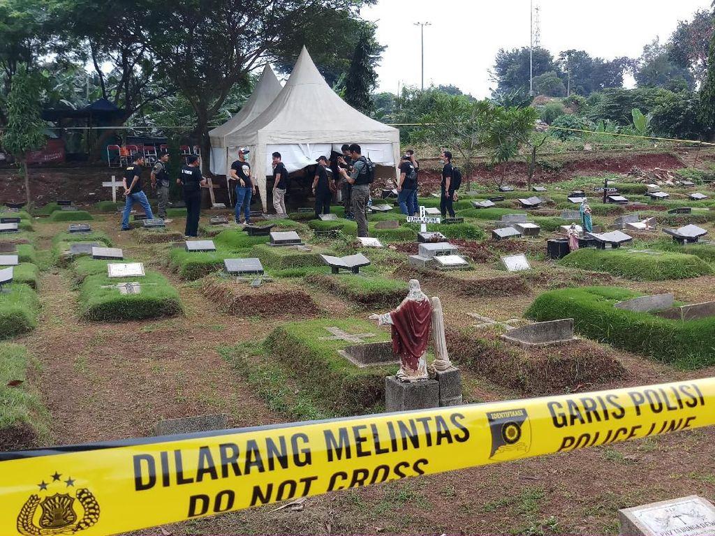 Makam Anak Karen Pooroe Dibongkar untuk Autopsi
