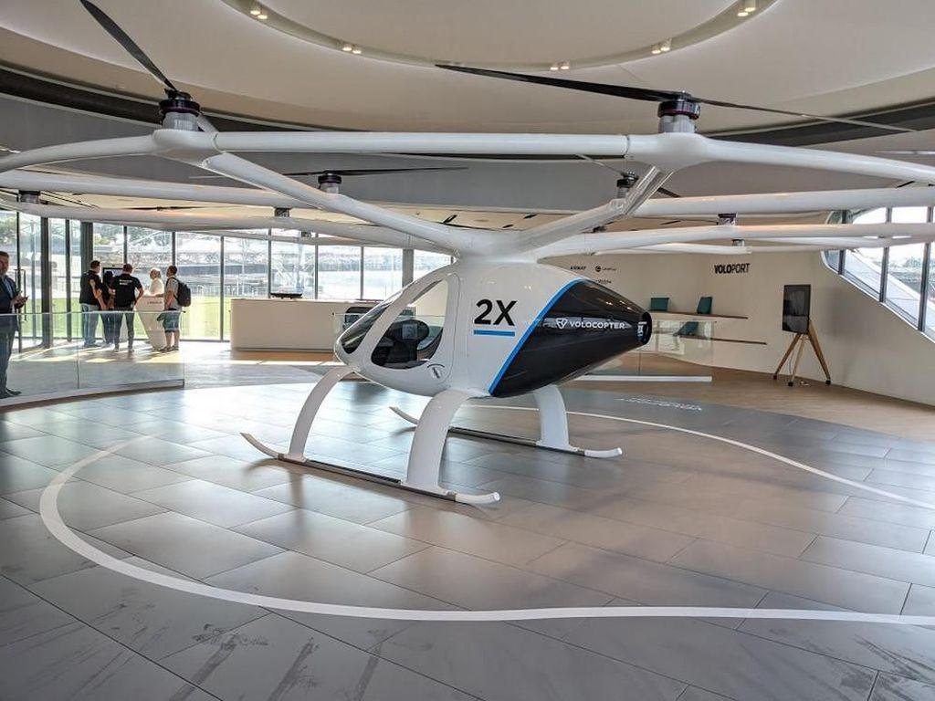 Gandeng Jerman, Grab Kembangkan Taksi Udara Volocopter