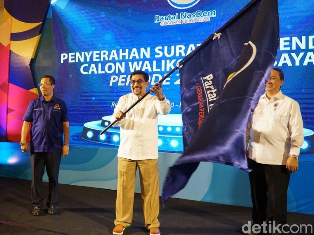 NasDem Deklarasi Dukung Mantan Ketua TKD Jatim di Pilwali Surabaya