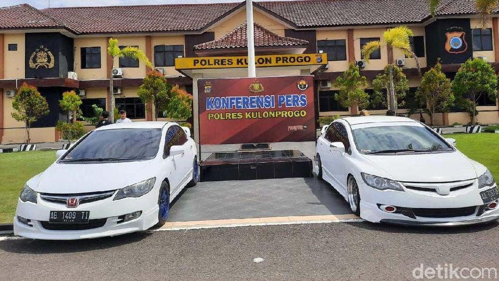 Ini Mobil yang Dipakai Dalam Balapan Liar di Underpass Kulon Progo
