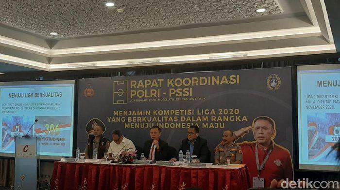 Rakor PSSI dengan Polri membahas Liga 1 2020