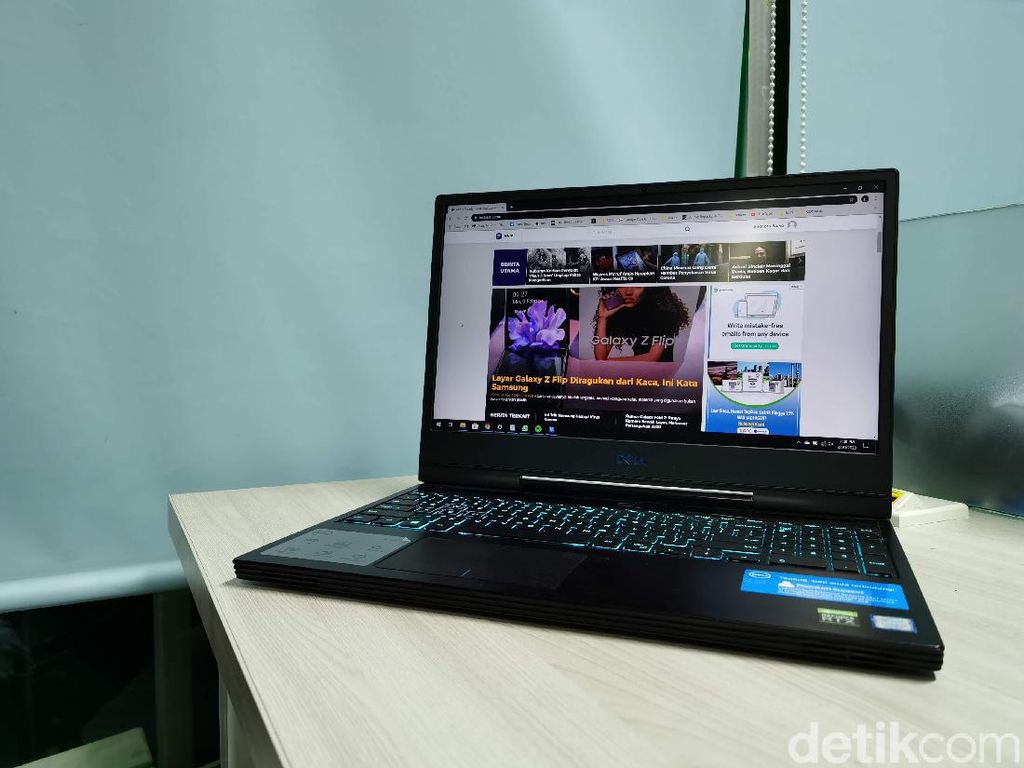 Dell G7 15 7590, Laptop Gaming Seharga Nmax