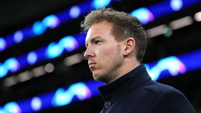 LONDON, ENGLAND - FEBRUARY 19: Julian Nagelsmann, Head Coach of RB Leipzig prior to the UEFA Champions League round of 16 first leg match between Tottenham Hotspur and RB Leipzig at Tottenham Hotspur Stadium on February 19, 2020 in London, United Kingdom. (Photo by Catherine Ivill/Getty Images)