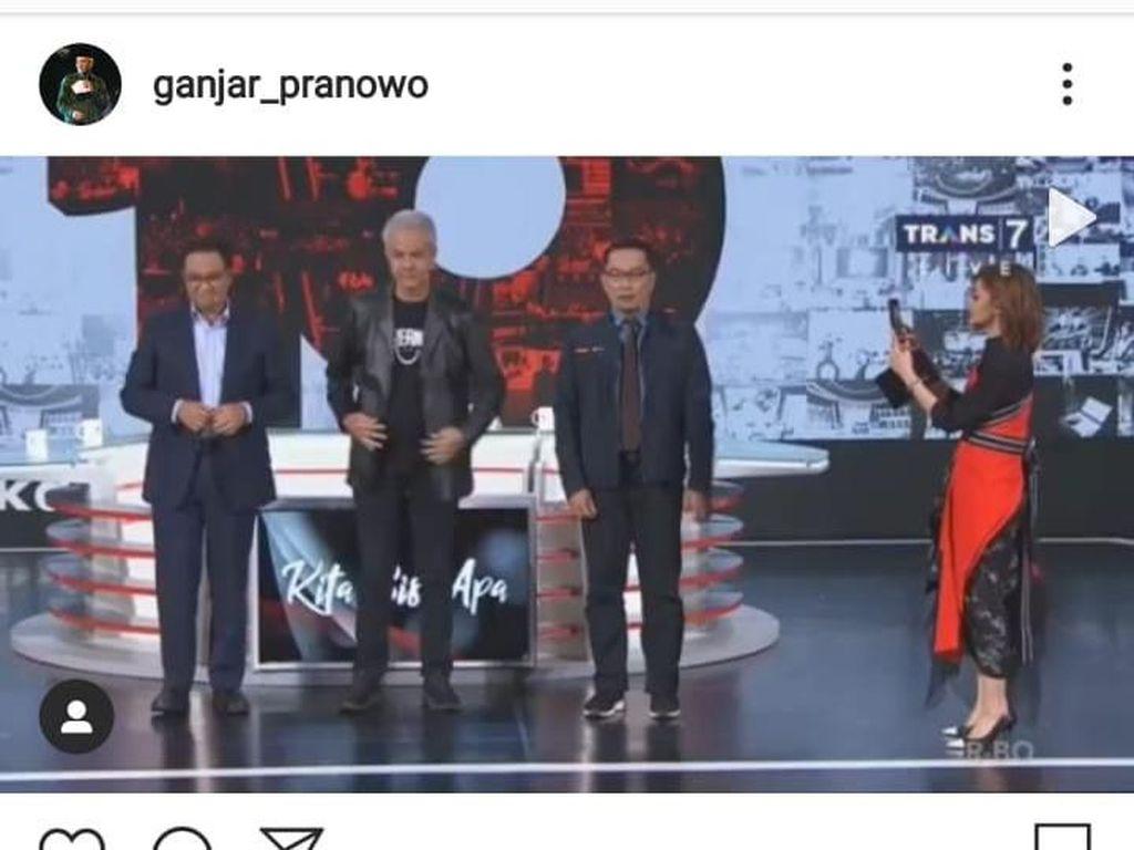 Posting Joget Any Song Challenge, Ganjar Pranowo Kenang Masa Kecil