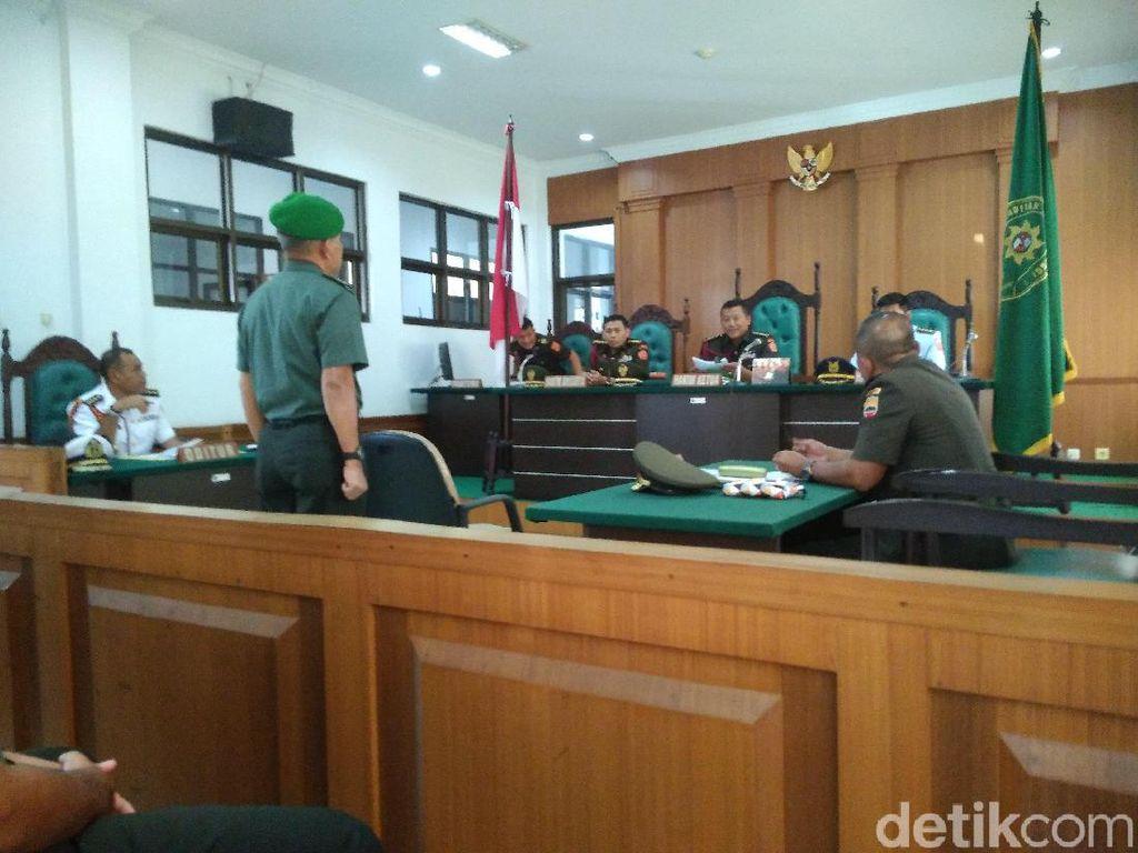 Divonis Bersalah di Kasus Perselingkuhan, Letkol AH Dihukum 8 Bulan Penjara