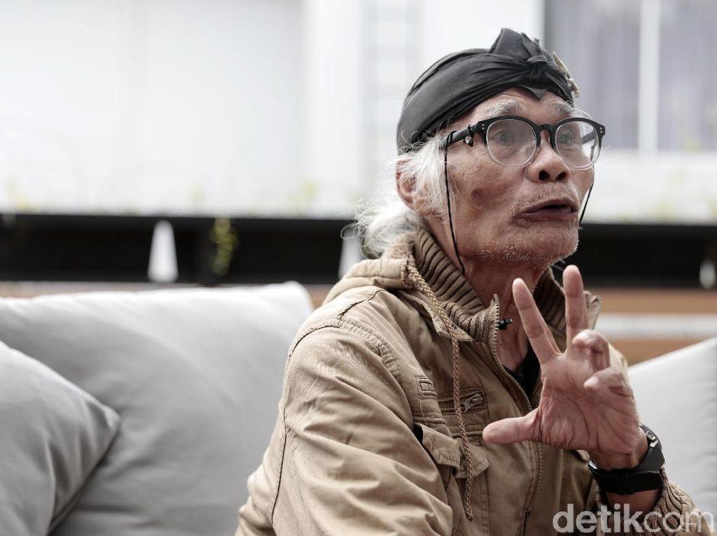 Usia Senja Tak Halangi Diding Boneng Eksis Sebagai Aktor dan Komedian