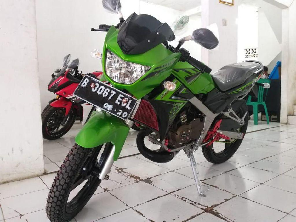 Si Legendaris Kawasaki Ninja 150 R, Harga Bekasnya Masih Rp 19 Jutaan
