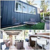 Rumah minimalis kontainer